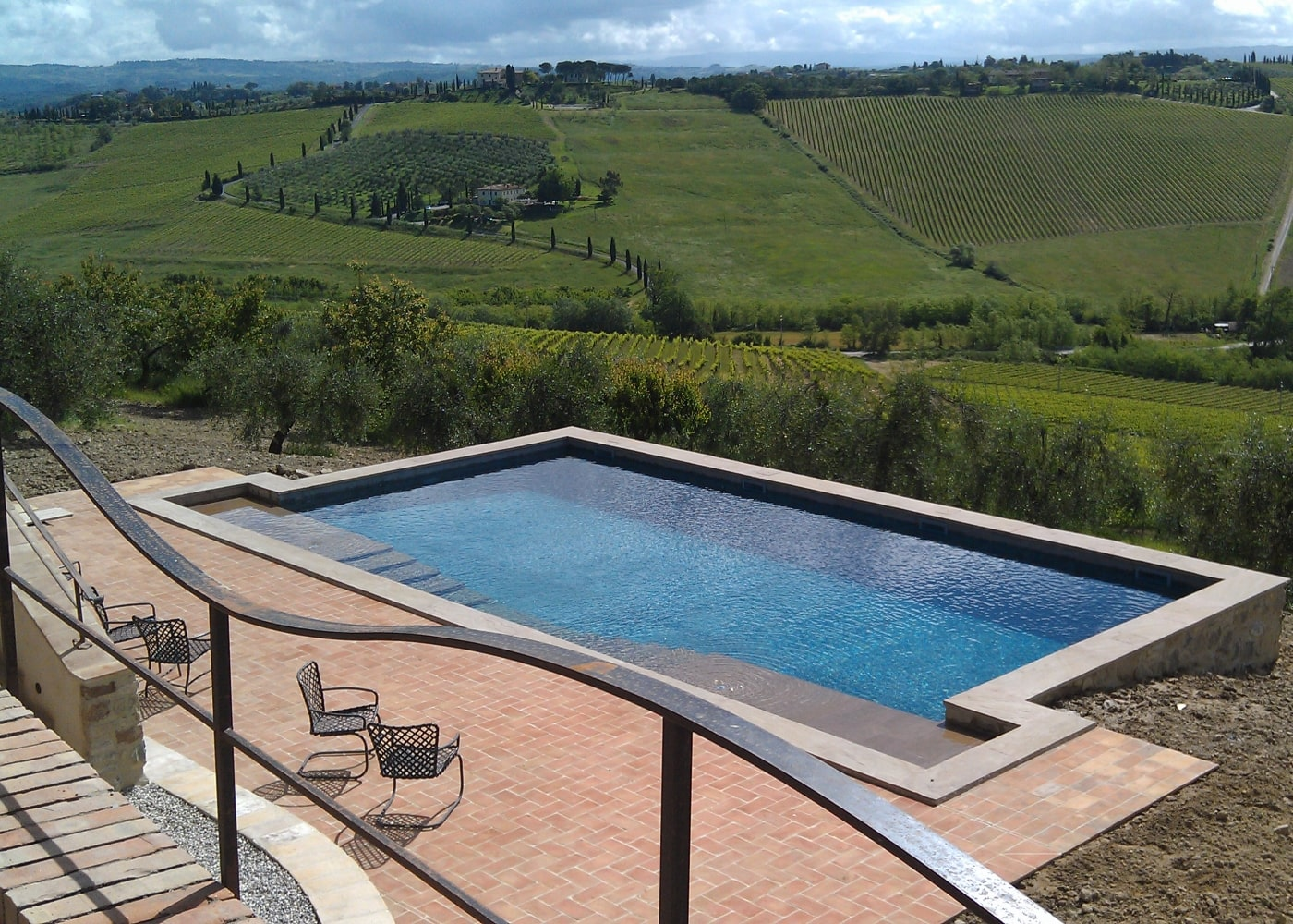 Design Pool in Tuscany by Gardenpool