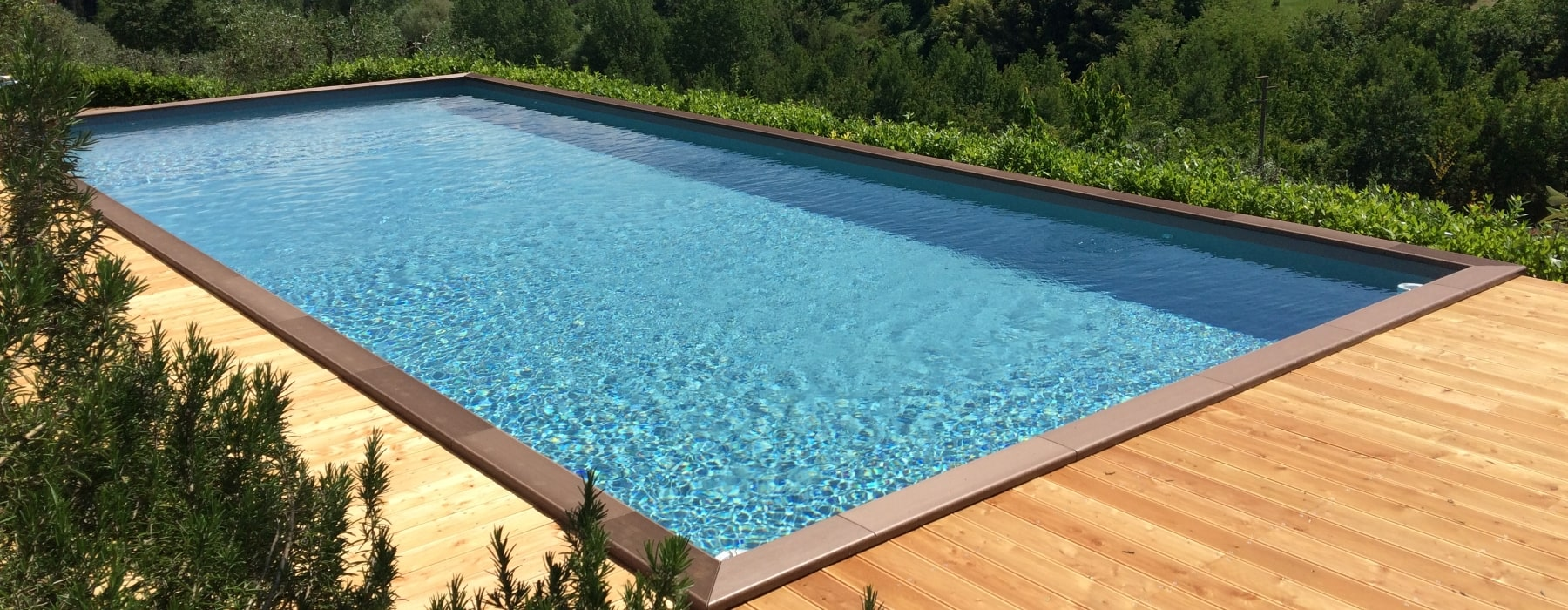 Above Ground Wooden Pools Garden Pool Realizzazione